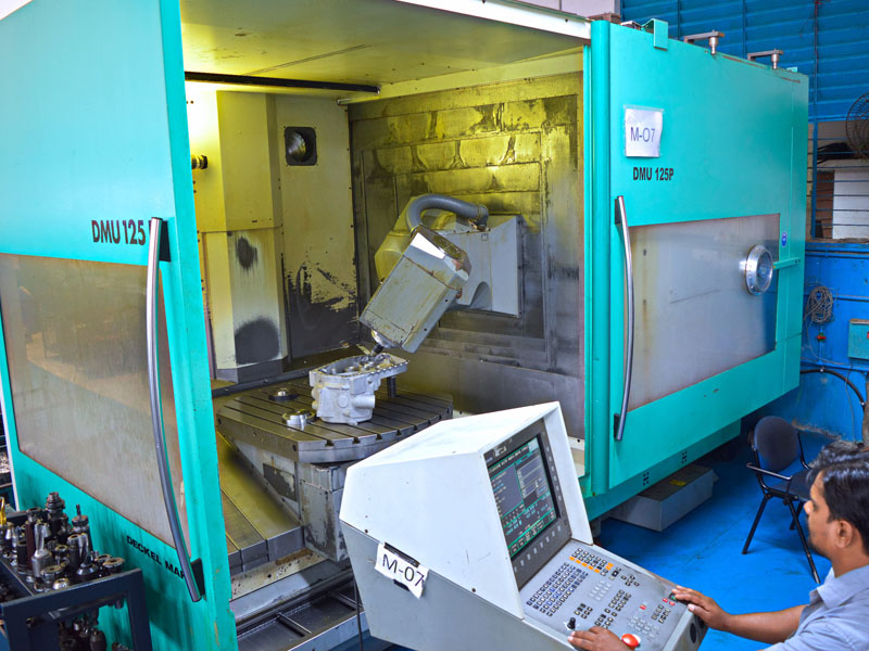 CNC Milling Centers - 5 Axis
